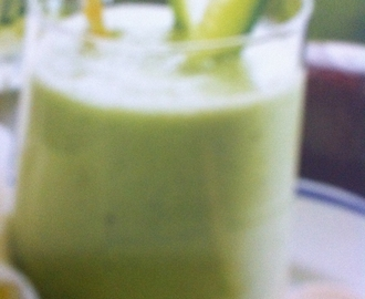 Komkommer/avocado smoothie