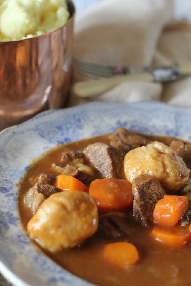 Beef & Guinness Stew with Dumplings