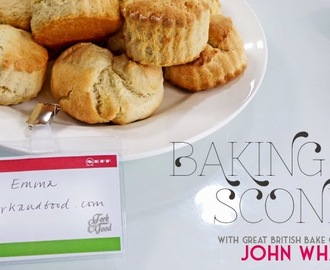 Baking Scones with John Whaites