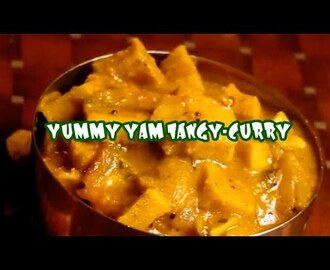 YUMMY YAM TANGY-CURRY