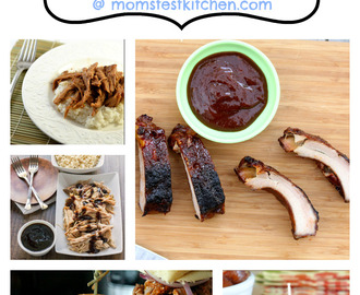 35+ Slow Cooked Pork Recipes #CrockPotWeek