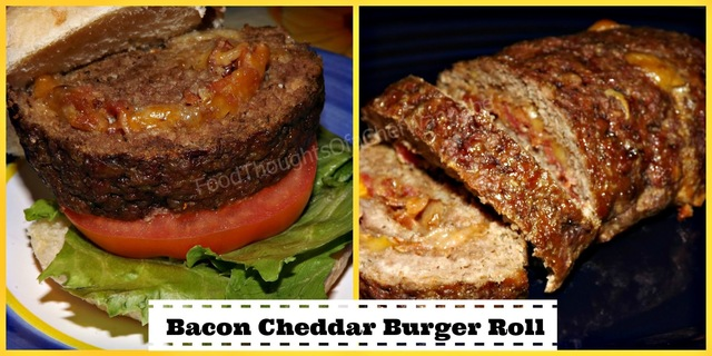 Bacon Cheddar Burger Roll