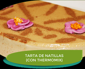 TARTA FRÍA DE NATILLAS {CON THERMOMIX}