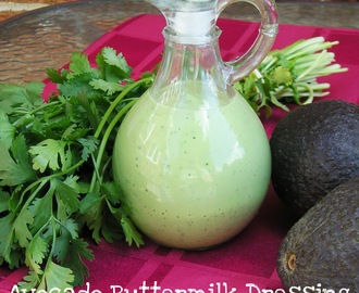 The Salad Bar: Avocado Buttermilk Dressing