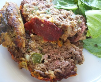 meatloaf with green chile