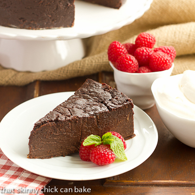 Flourless Chocolate Kahlua Cake…Guest Post for The Cafe Sucre Farine
