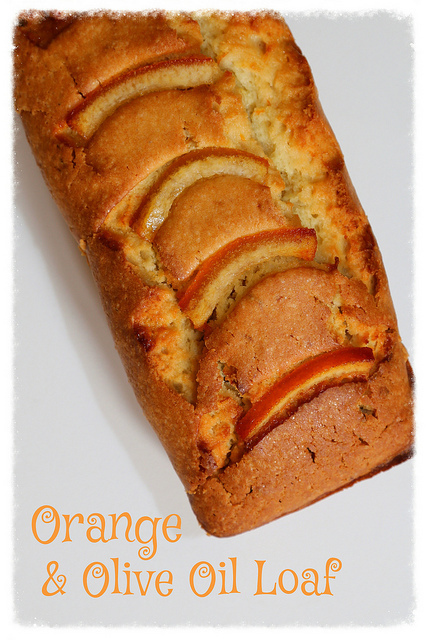 Orange & Olive Oil Loaf Cake