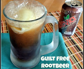 Guilt Free Rootbeer Floats
