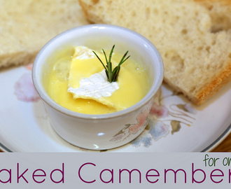 Baked Camembert for One
