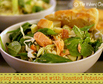 Spicy Salmon Salad with Roasted Potatoes PLUS: What makes you feel guilty?