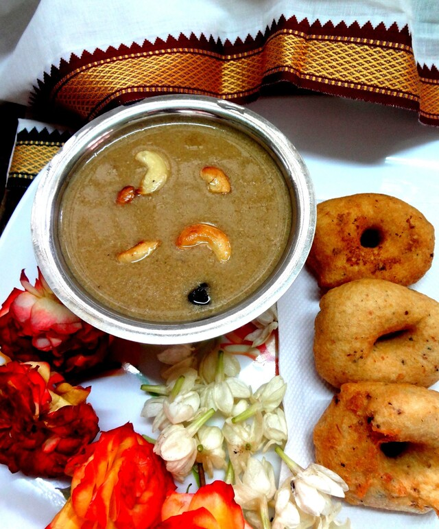 Festival recipes...Aadi Pandigai , Thengai Paal  ( Sweetened coconut milk )