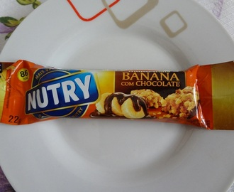 Barra de cereal Banana com Chocolate – Nutry