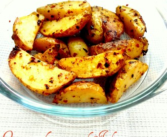 Oven roasted potatoes with Italian seasonings