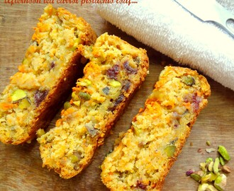 Afternoon Tea Carrot Pistachio Loaf