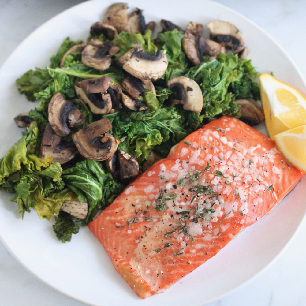 Lemon Thyme Roasted Salmon