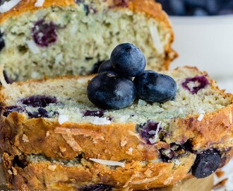 Blueberry Coconut Banana Bread