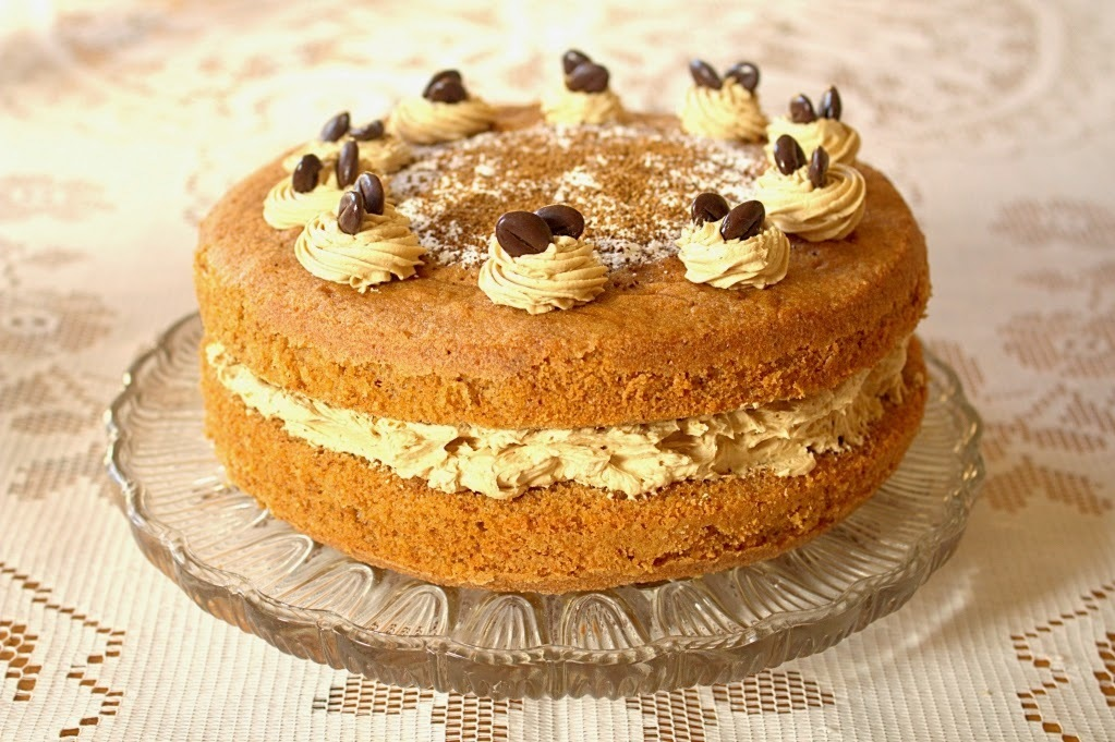 Coffee and Walnut Cake - A Classic British Recipe