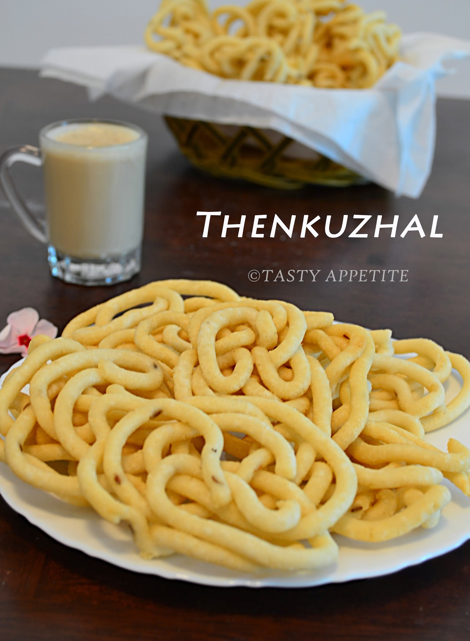 How to make Thenkuzhal Murukku ? /  Butter Murukku / Krishna Jayanthi Special Recipes / Easy Snacks Recipes: