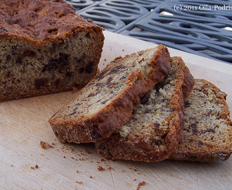 Banana Date Nut Bread