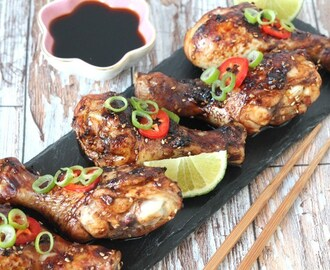 Sweet & Sticky Chilli Chicken Drumsticks