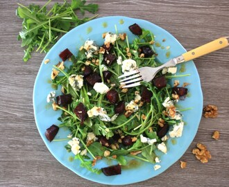 Maple Roasted Beetroot Salad