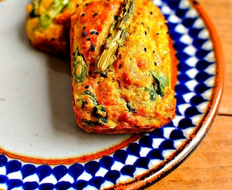Sunny Spring Vegetable Breakfast Muffins