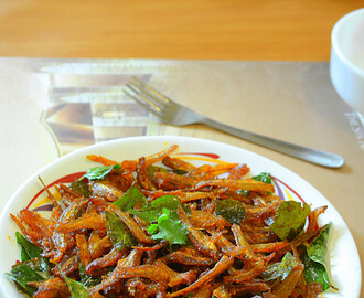 How to make Spicy Fried Anchovies / Spicy Anchovies / Anchovies Recipes / step by step: