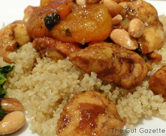 Chicken Almond Apricot Tagine