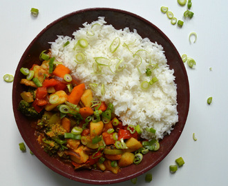 Recept: vegan curry