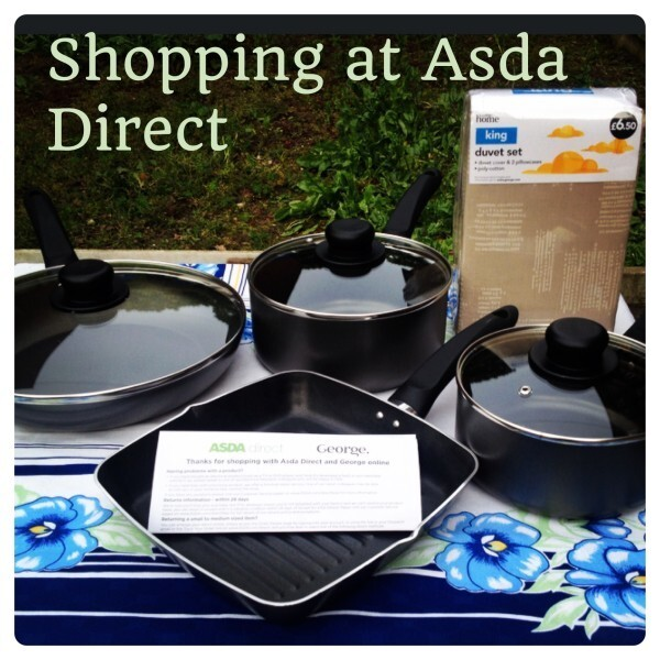 Shopping Online at Asda Direct: Click & Collect #shop