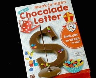 Review: Maak je eigen chocolade letter (Action)