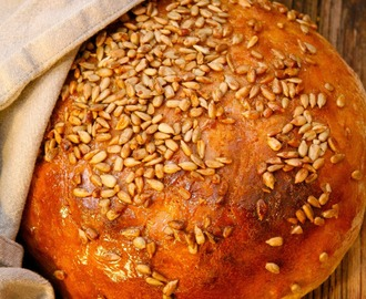 Beer and barley bread