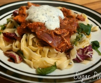 Slimming World Recipe: Pulled Chicken Tikka Pasta Salad