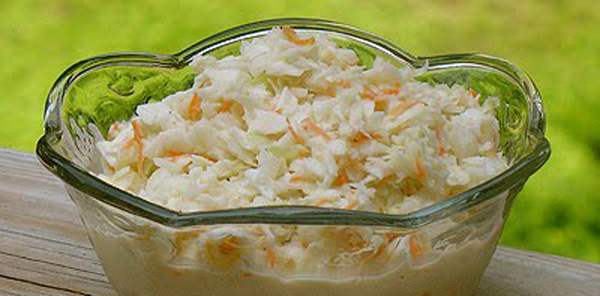 Homemade Coleslaw | Country Cooking Recipes