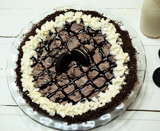No Bake Oreo Pie #DairyMonth
