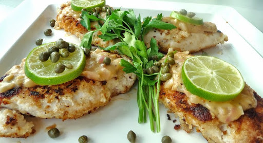 Chicken Piccata, (joint guest post)