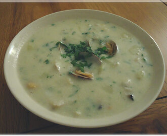 Smoked Haddock and Clam Chowder