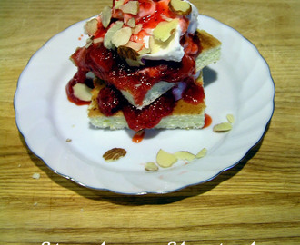Strawberry Shortcake (for Passover and year-round)