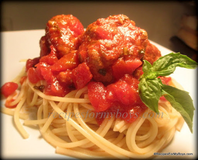 Cooking Planit Review Grandma Rose's Spaghetti and Meatballs Meal and Upcoming Cooking Planit T-fal Giveaway
