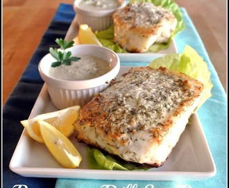 Parmesan Dill Sea Bass
