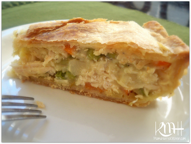 Chicken Pot Pie made with Pillsbury Pie Crusts