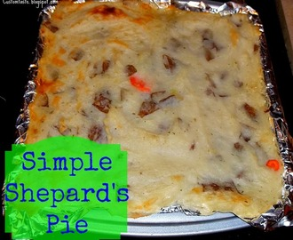Meal Idea Mondays: Shepard's Pie