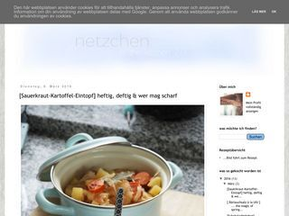 Netzchen in the kitchen