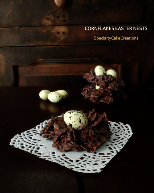 Cornflakes Easter Nests