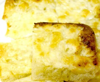 {Recipe} Worlds Best Cheesy Garlic Bread