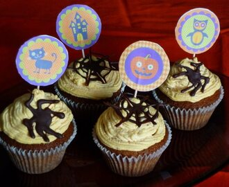 Waiting for Halloween ... cupcakes alla zucca