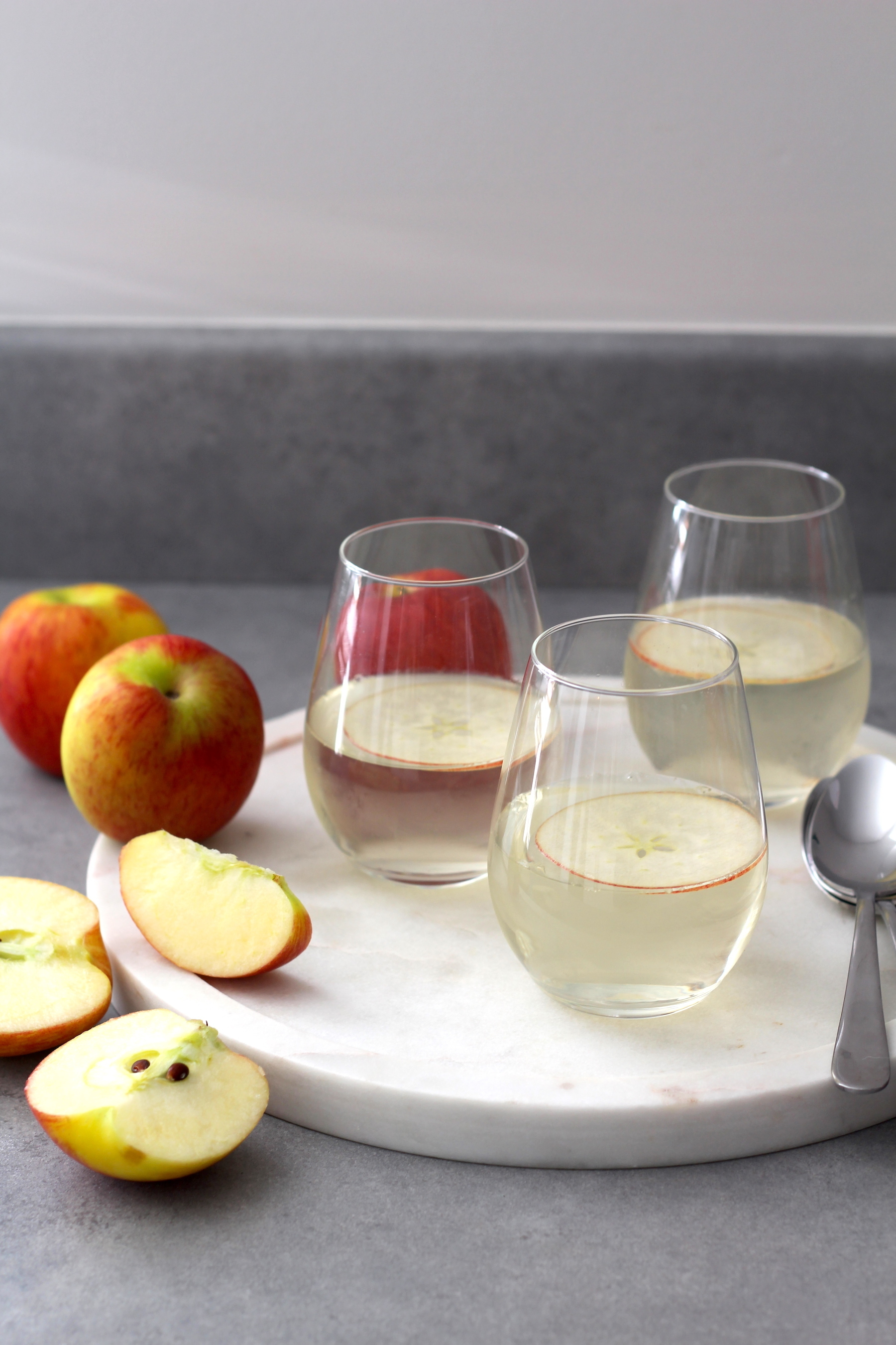 Jazz Apple and Prosecco Jelly