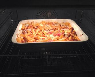 Meatball Pasta Bake recipe