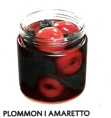 Plommon i amaretto