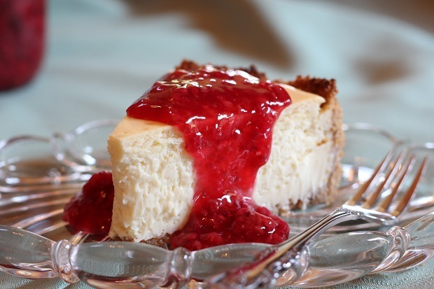 New York Style Cheesecake {and getting older}